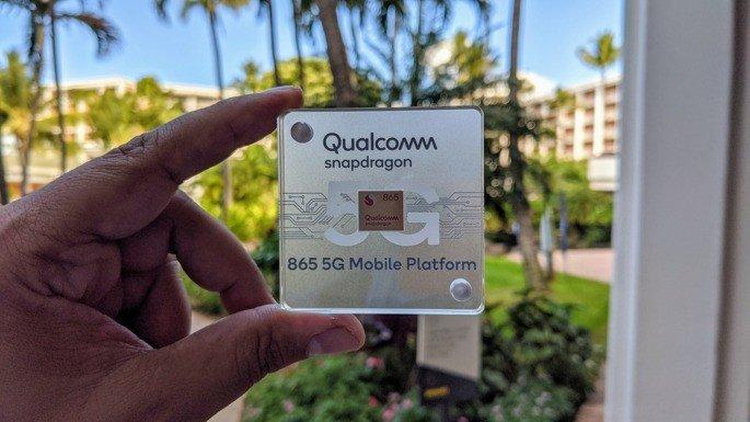 Qualcomm Snapdragon 865 smartphones
