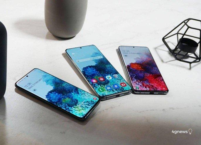 Samsung Galaxy S20 séries