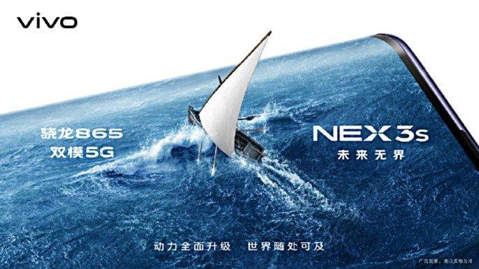 Vivo NEX 3s smartphone