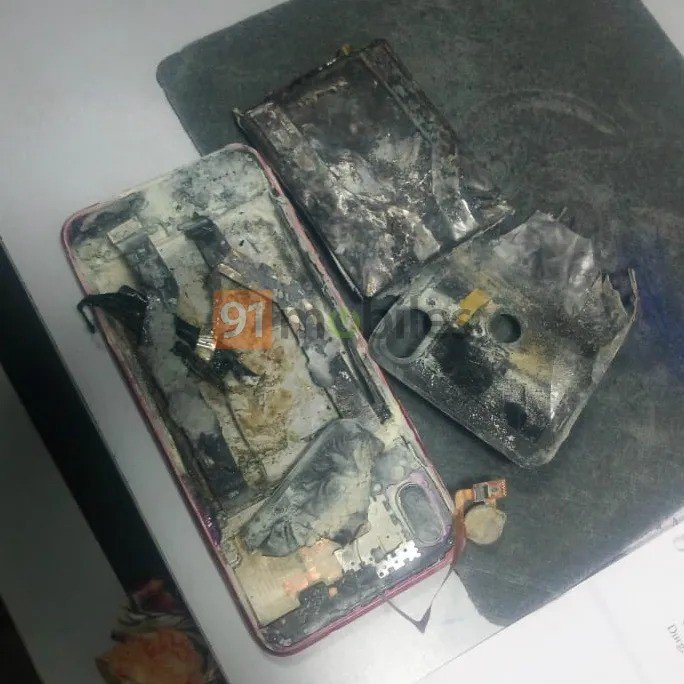 Xiaomi Redmi Note 7 Pro explosão