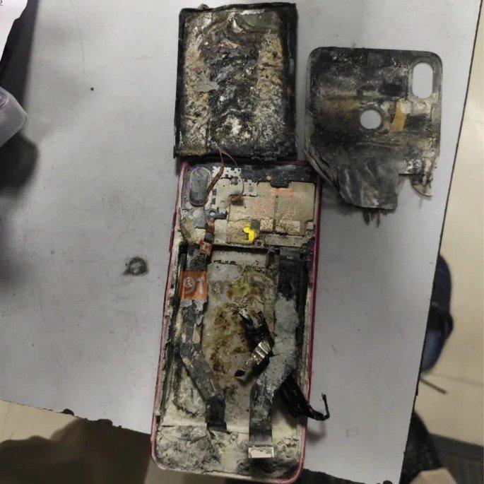 xiaomi redmi note 7 pro bateria explode