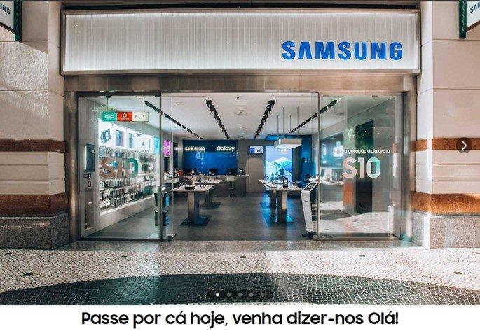 Samsung Portugal loja Colombo