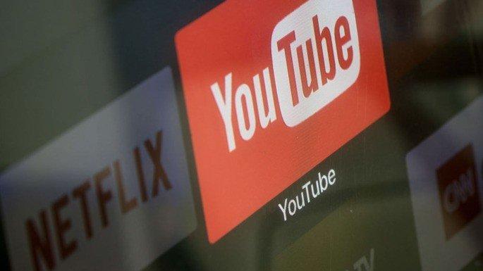 YouTube Netflix Europa