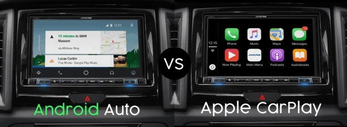 Google Android Auto Apple CarPlay