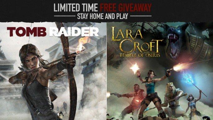 Tomb Raider Steam grátis