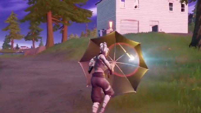 Guarda-chuva kingsman Fortnite
