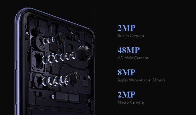 Vivo V19 cameras