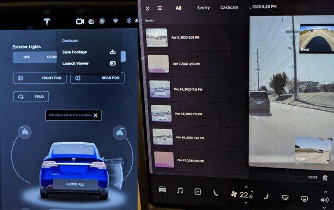 Tesla Dashcam viewer
