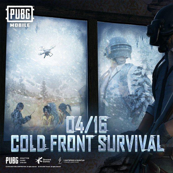 PUBG Mobile Cold Front Survival