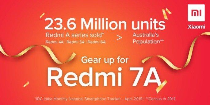Xiaomi 23 milhões índia