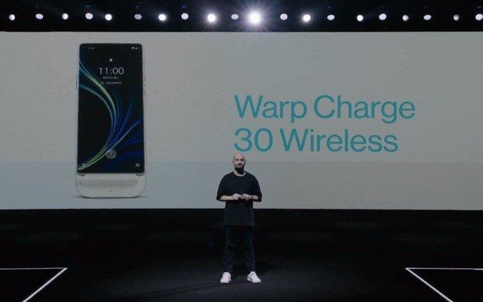 OnePlus 8 Pro carregamento sem fios