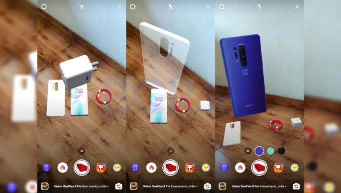 OnePlus 8 Pro unboxing Filtro Instagram