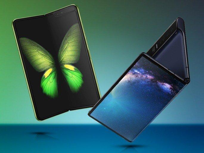 Galaxy Fold Huawei Mate X