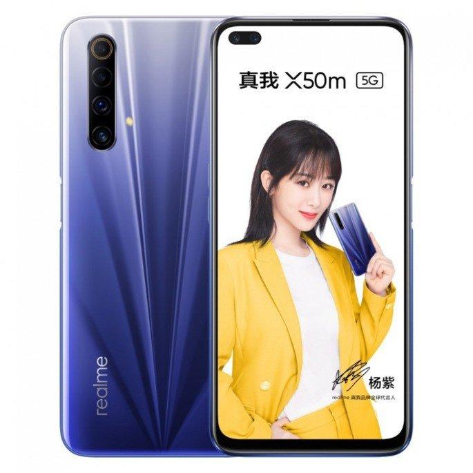 Realme X50m oficial