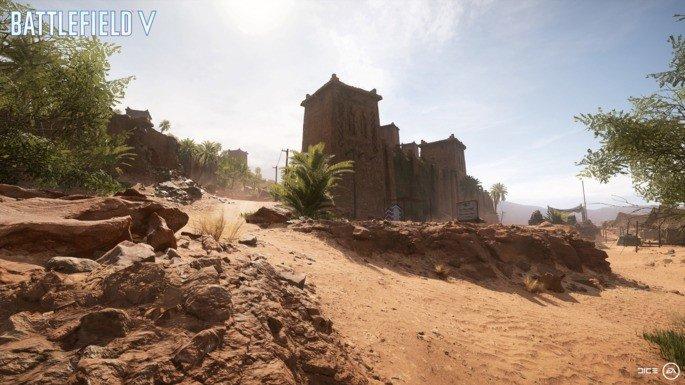 Mapa Lybia Battlefield V