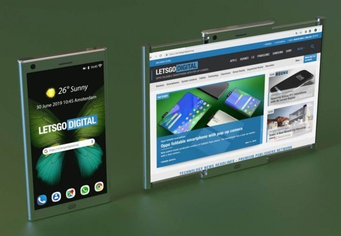 Samsung ecrã expansível