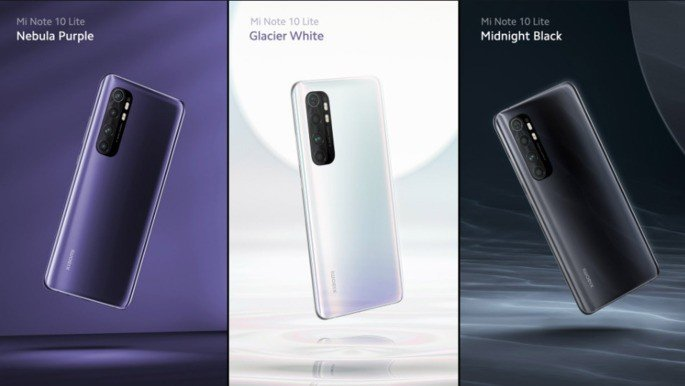 Xiaomi Mi Note 10 Lite cores