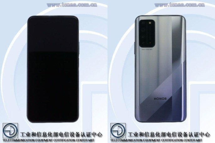 Honor X10 5G TENAA