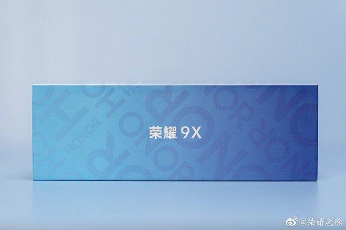Huawei Honor 9X caixa