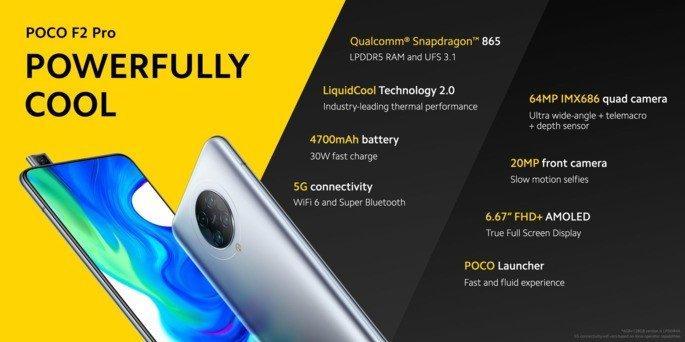 Xiaomi Pocophone F2 Pro preços
