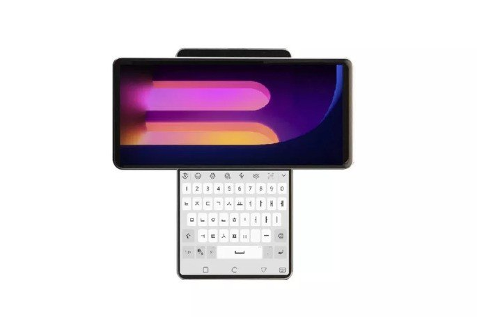 LG smartphone design