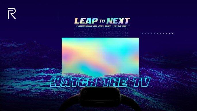 Realme Smart TV Smartwatch apresentação data oficial