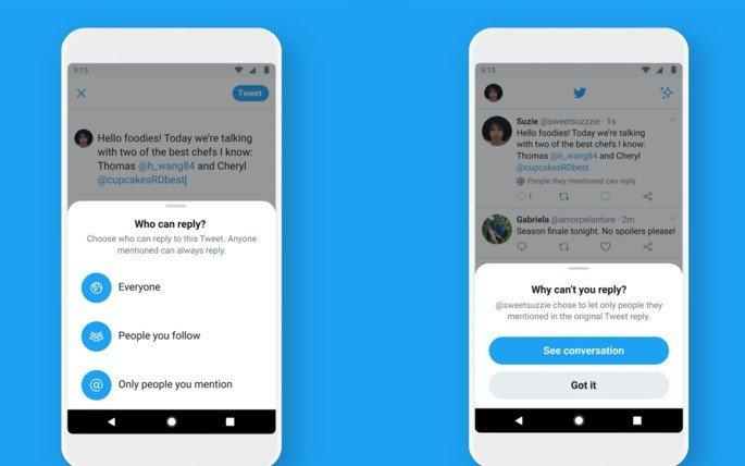 Twitter bullying nova funcionalidade