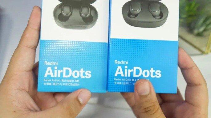 Xiaomi AirDots falsificações
