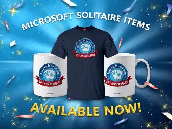 Solitário Microsoft Merch