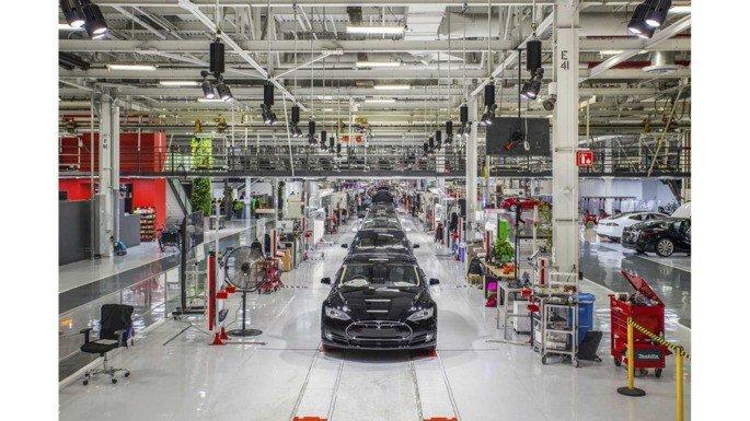 Fábrica da Tesla em Fremont