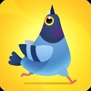 https://play.google.com/store/apps/details?id=com.fortafygames.pigeonpop