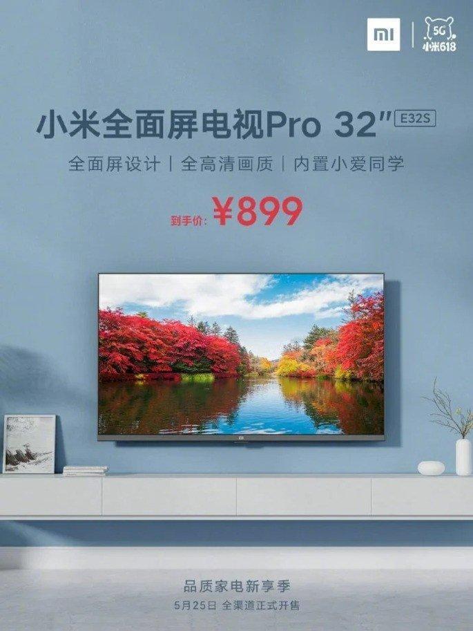 Xiaomi Mi TV Pro 32 polegadas