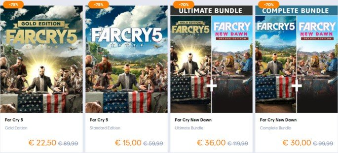 Far Cry 5 promotion