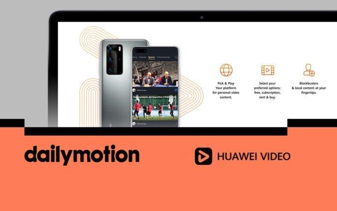 Dialymotion Huawei