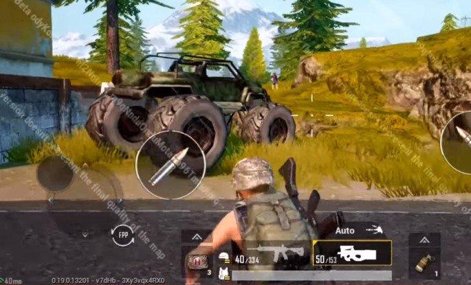 PUBG Mobile Monster Truck