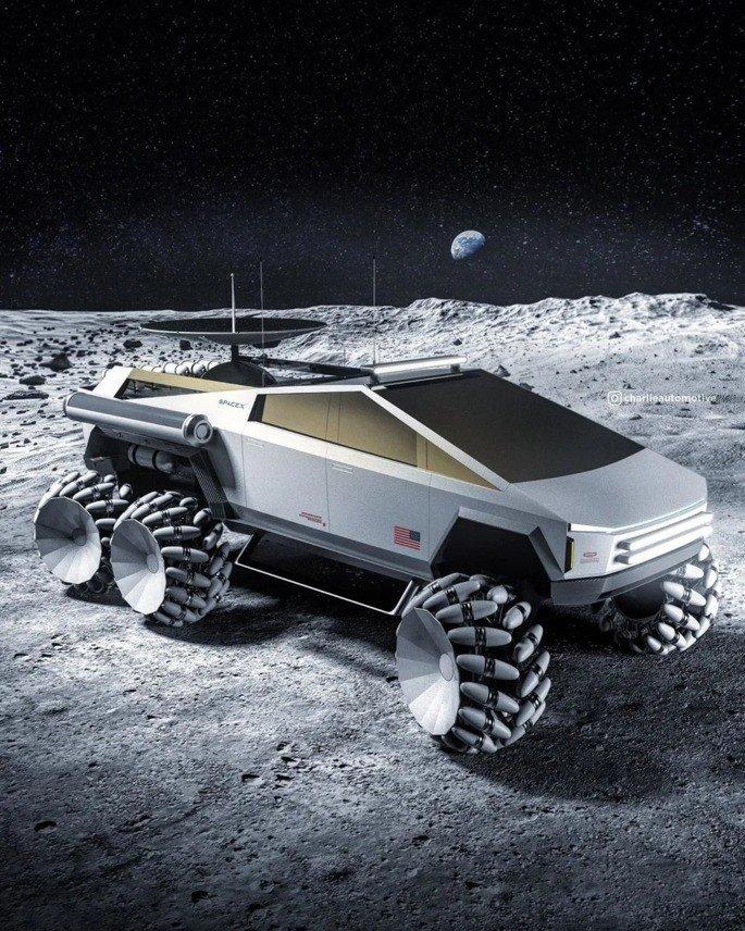 Tesla Cybertruck missão espacial