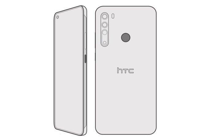 HTC Desire 20 Pro renders