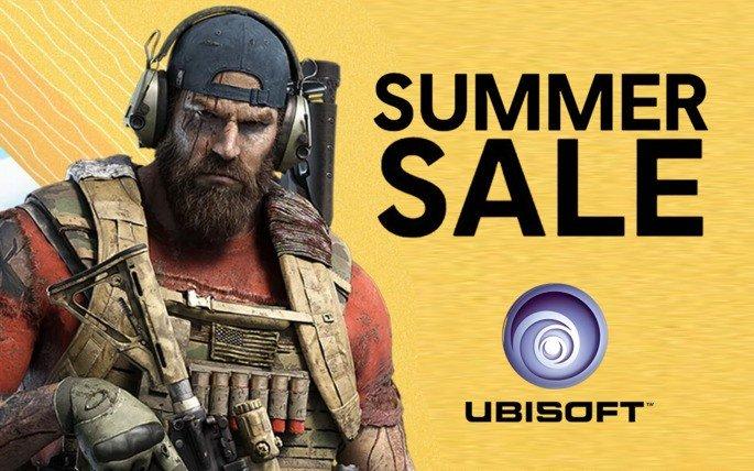 Ubisoft descontos de verão jogos