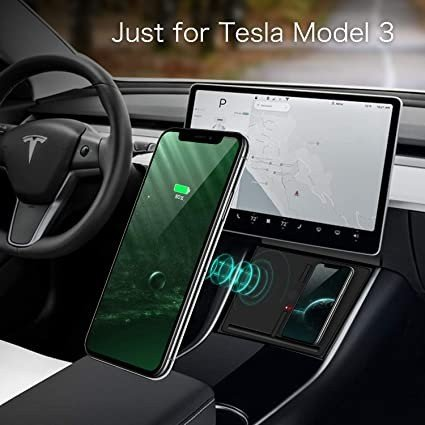 Tesla Model 3 carregador sem fios