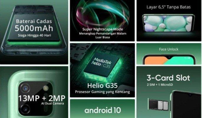 Realme C11 features