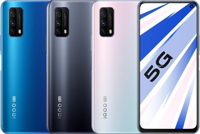 iQOO Z1x gaming oficial
