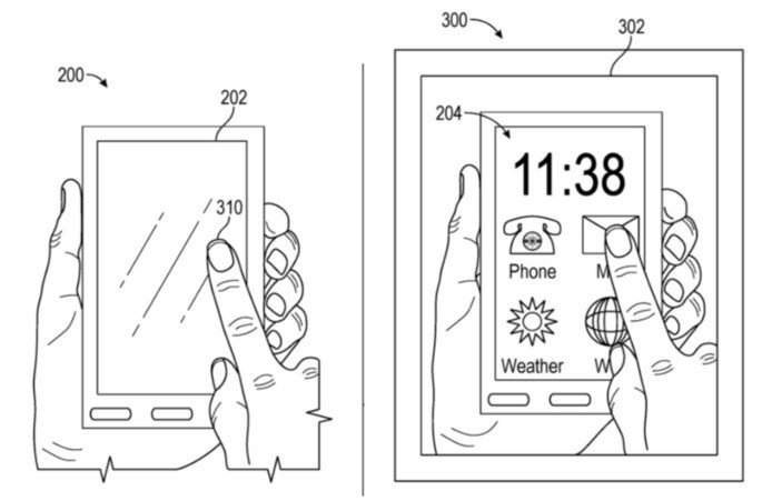 Apple Glass patente iphone privacidade