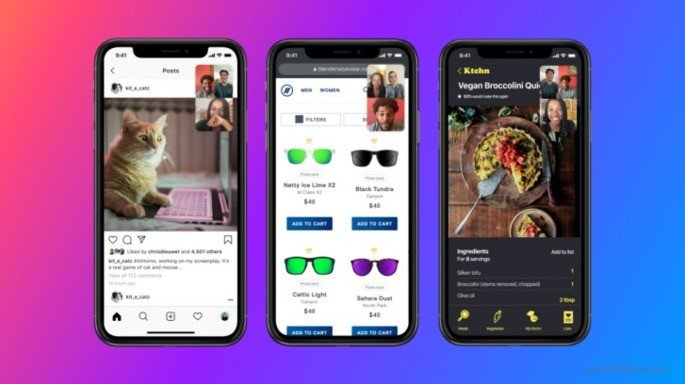 Facebook Messenger screen share