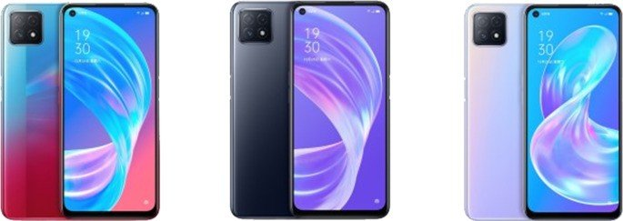 OPPO A72 5G cores
