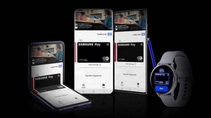 Cartão Samsung Pay Europa