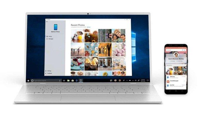 Samsung Microsoft You Phone App