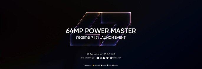 Realme 7i apresentação oficial