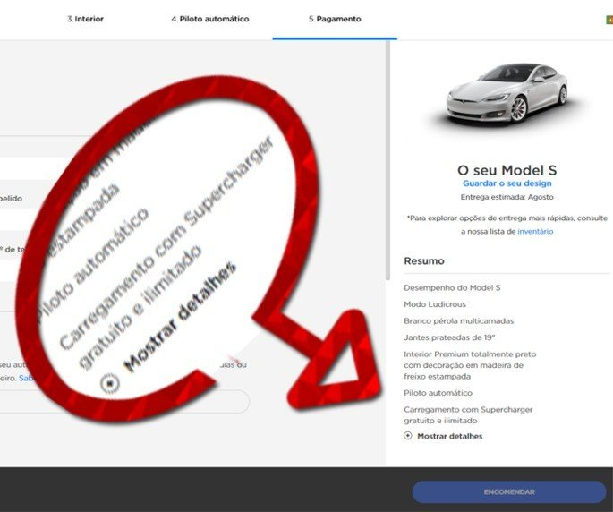 Tesla Model X Model S grátis