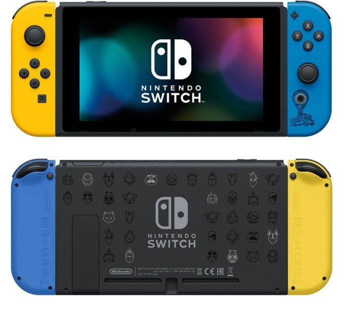 Nintendo Switch edição limitada Fortnit