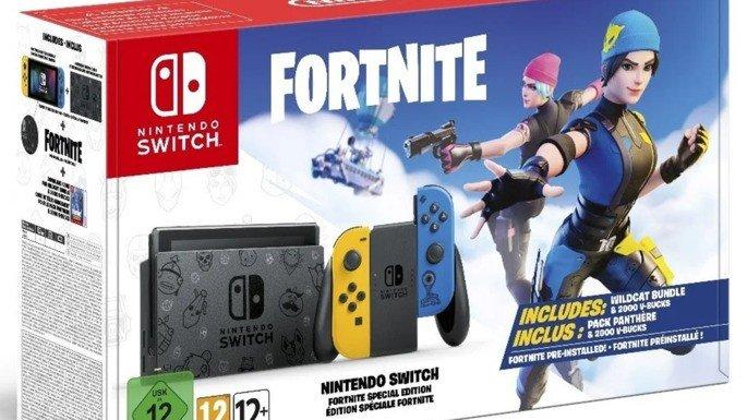 Nintendo Switch Epic Games Fortnite